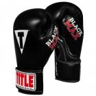Перчатки детские TITLE Classic Black Max Boxing Gloves