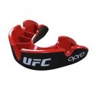 Капа подростковая OPRO Silver Junior UFC Hologram