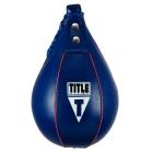 Груша пневматическая TITLE Leather Super Fast Speed Bag