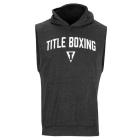 Кенгурушка без рукавов TITLE Boxing Ripped Muscle Hoody Tee