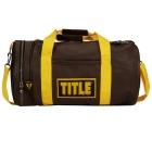 Сумка TITLE Boxing Vintage Leather Gear Bag