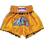 Трусы для тайского бокса ТМ TWINS Thai Style Trunks - Bulldog w/ Fringe