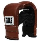 Снарядные перчатки TITLE Old School Heavy Bag