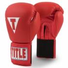 Перчатки тренировочные TITLE Classic Leather Elastic Training Gloves