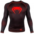 Компрессионная футболка VENUM Contender 3.0 Compression T-shirt Long Sleeves