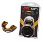 Капа подростковая OPRO Gold Junior UFC Hologram