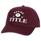 Кепка TITLE Boxing Old School Adjustable Cap