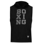 Кенгурушка без рукавов TITLE Boxing Stacked Muscle Hoody Tee