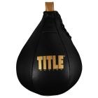 Груша пневматическая TITLE Boxing Hightail Leather Speed Bag