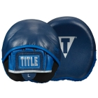 Лапы TITLE Boxing Royalty Leather Micro Punch Mitts