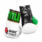 Перчатки сувенирные TITLE WBC Cares Mini Boxing Gloves