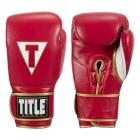Перчатки тренировочные TITLE Boxeo Mexican Leather Training Gloves Quatro